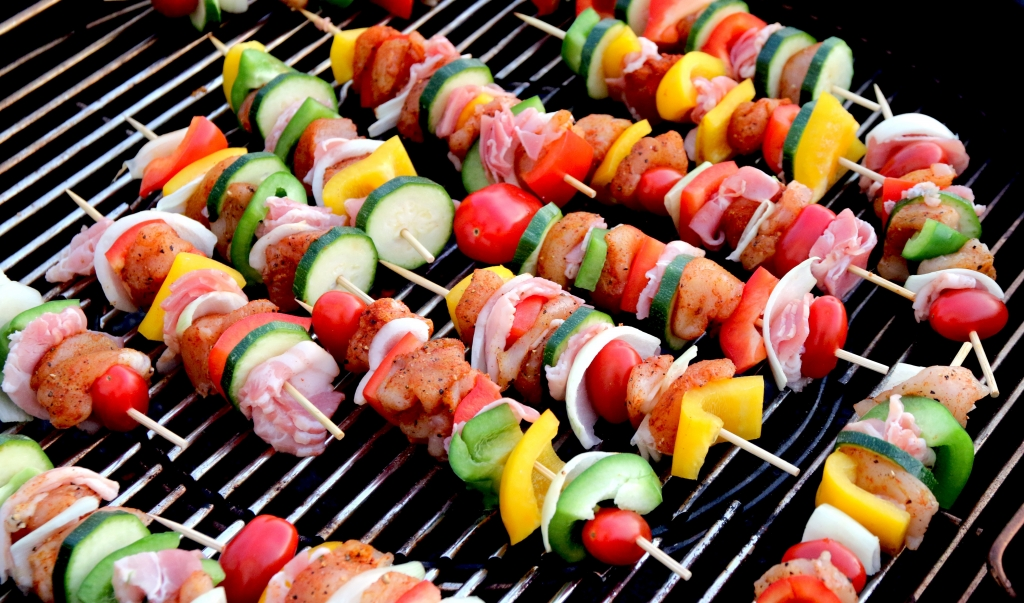 shish kebab, barbecue, bbq, barbeque