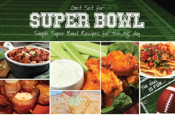 Simple Super Bowl Recipes