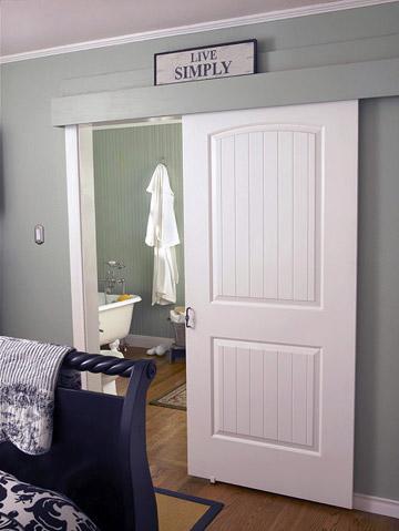 Make sure your door fits the room.