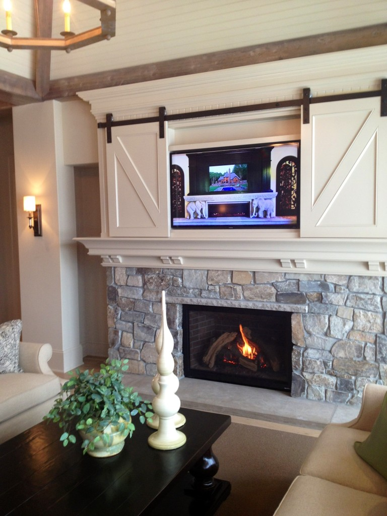 Barn door for your television