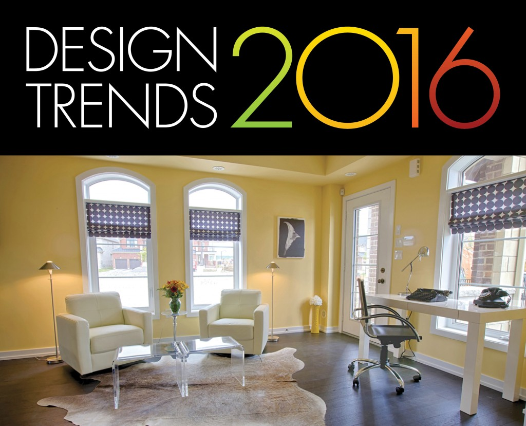 Six home d cor trends for 2016 geranium blog for New home decoration