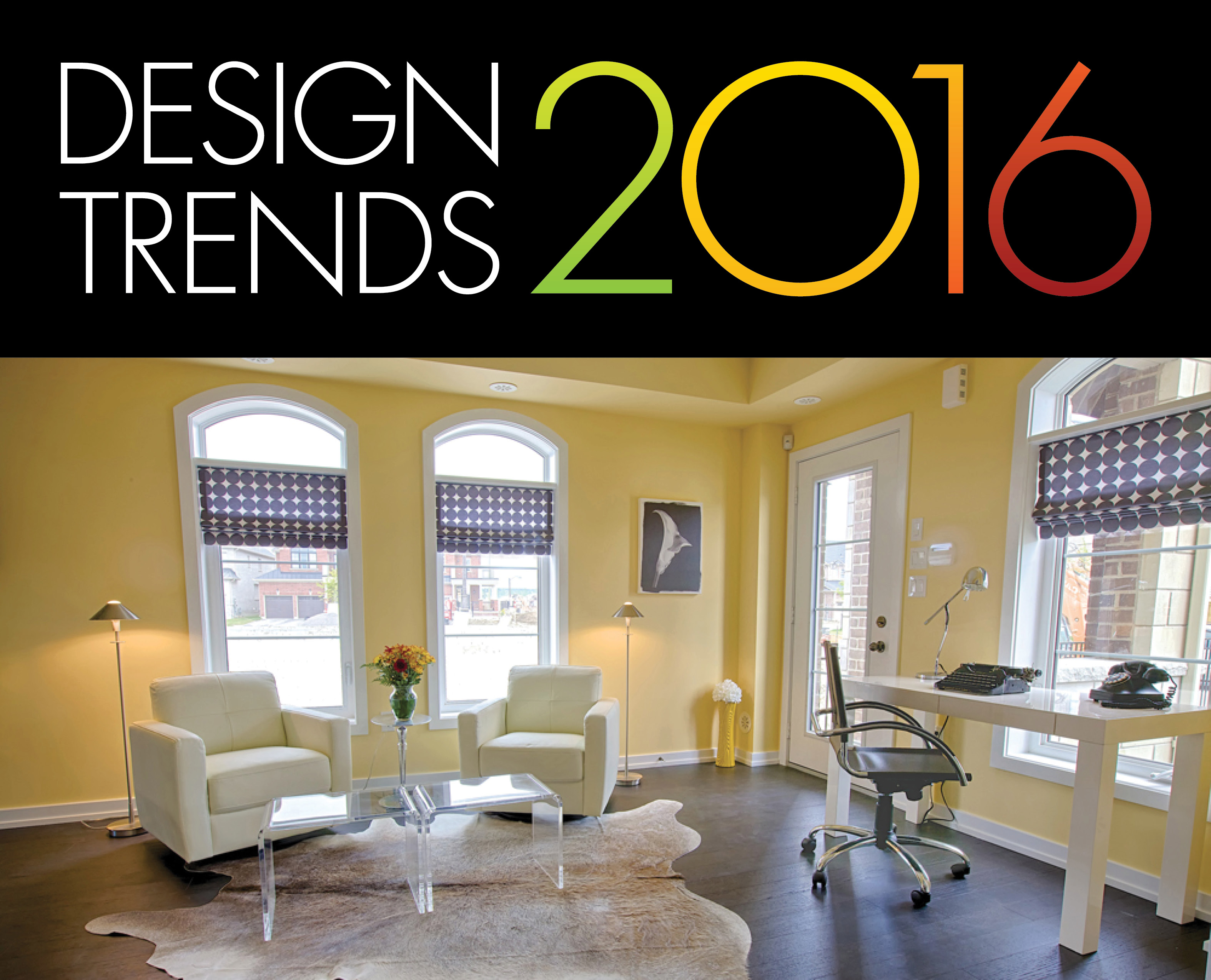 six home décor trends for 2016 - geranium blog