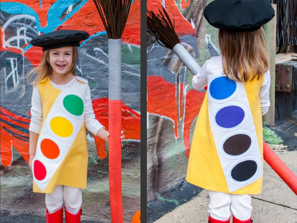 Cute halloween costumes u can make at home for Halloween decorations you can make at home