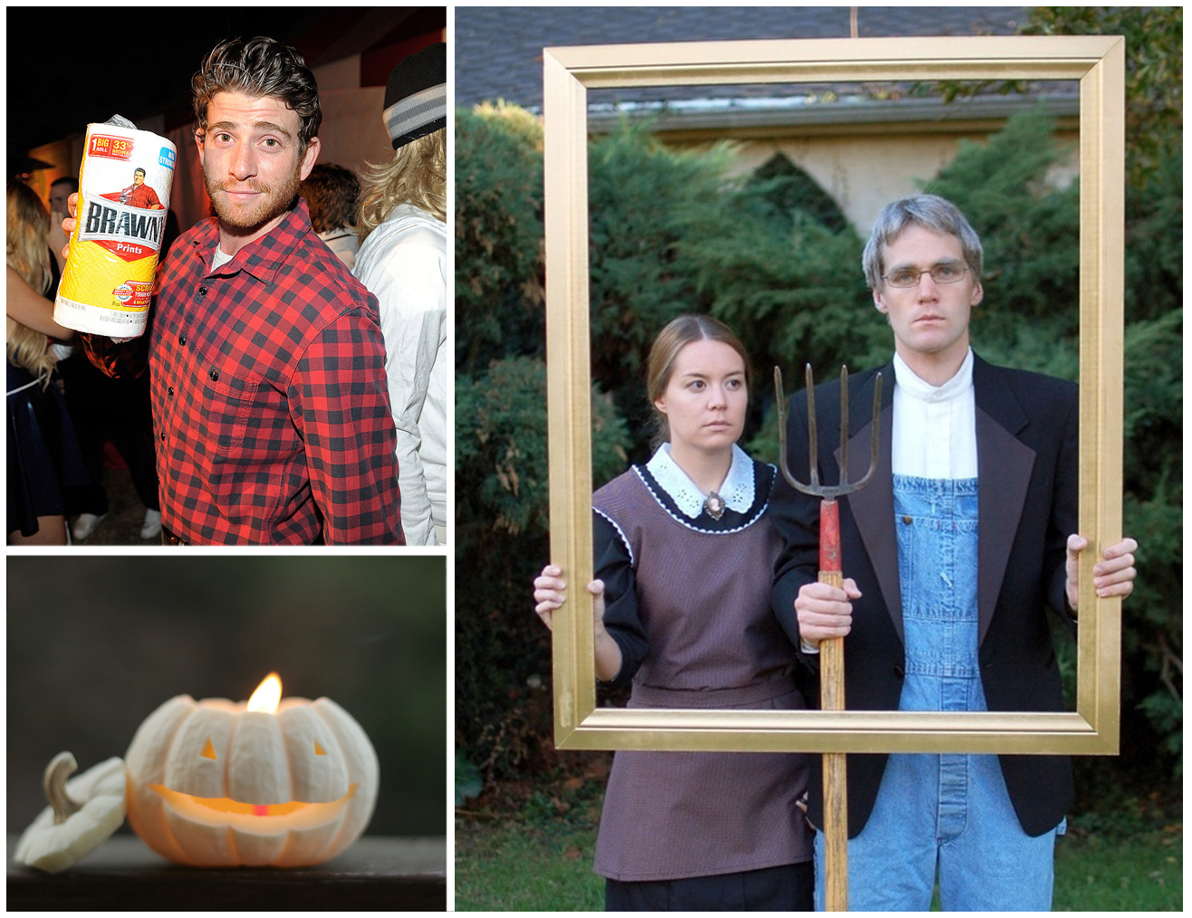 Clever halloween costumes you can make at home geranium blog for Halloween decorations you can make at home