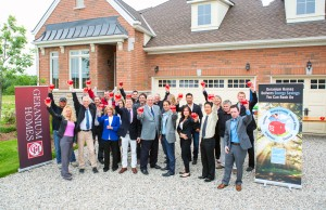 Celebrating the Energy Star 2012 Rating at Sally Creek, Woodstock