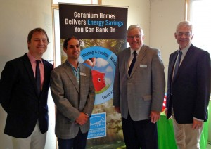 At the Energy Star Launch Event in Woodstock.