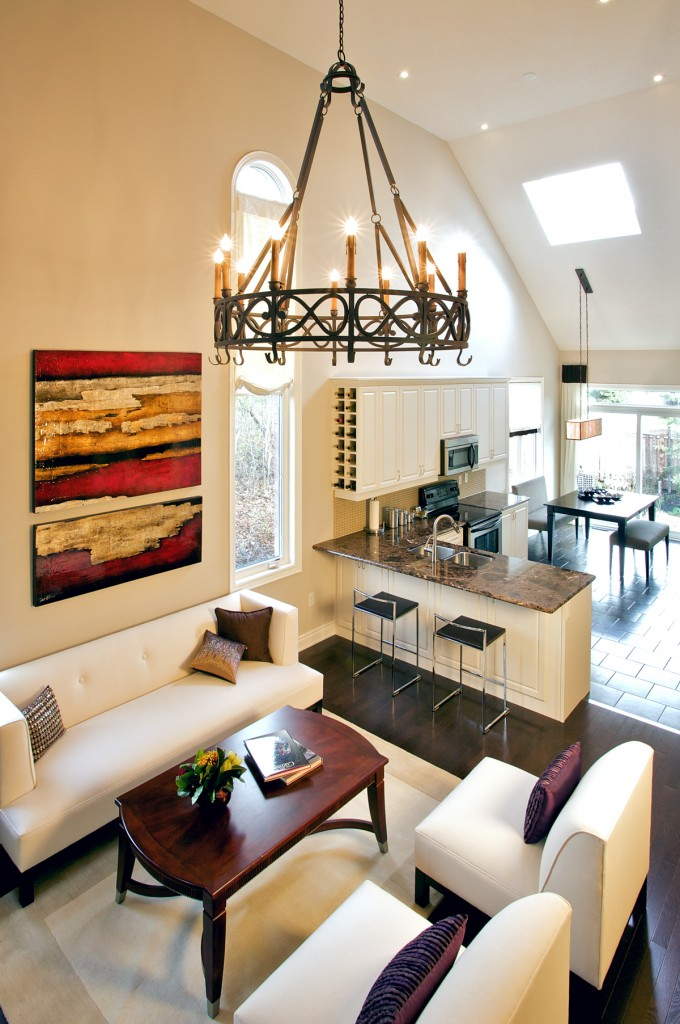 Spacious Interiors of Cardinal Point Townhomes