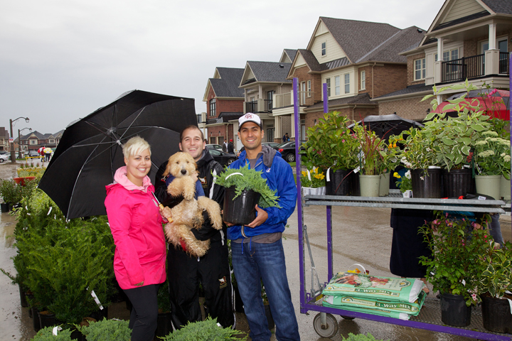 Neighbourhoods In Bloom Gardening Event, Cardinal Point
