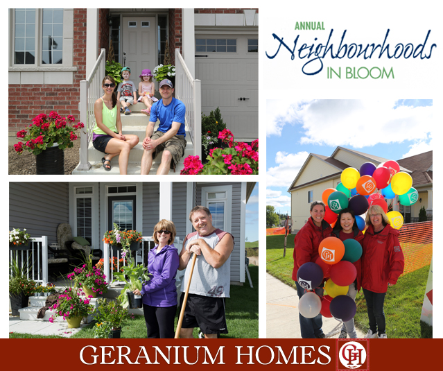 Geranium Homes Neighbourhoods In Bloom