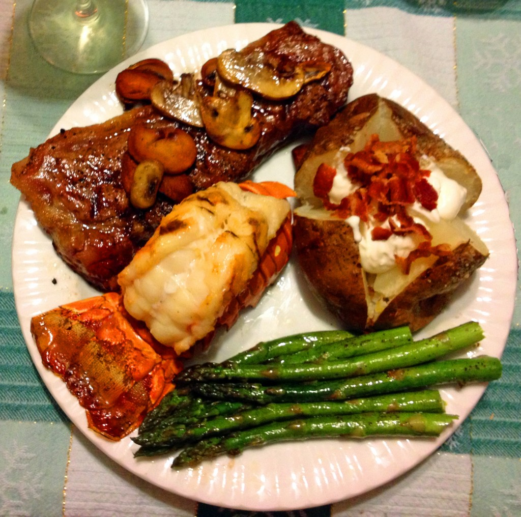 Here's our last year's New Years Eve dinner, can't wait for this year!