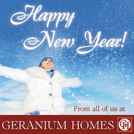 Geranium Homes Greeting