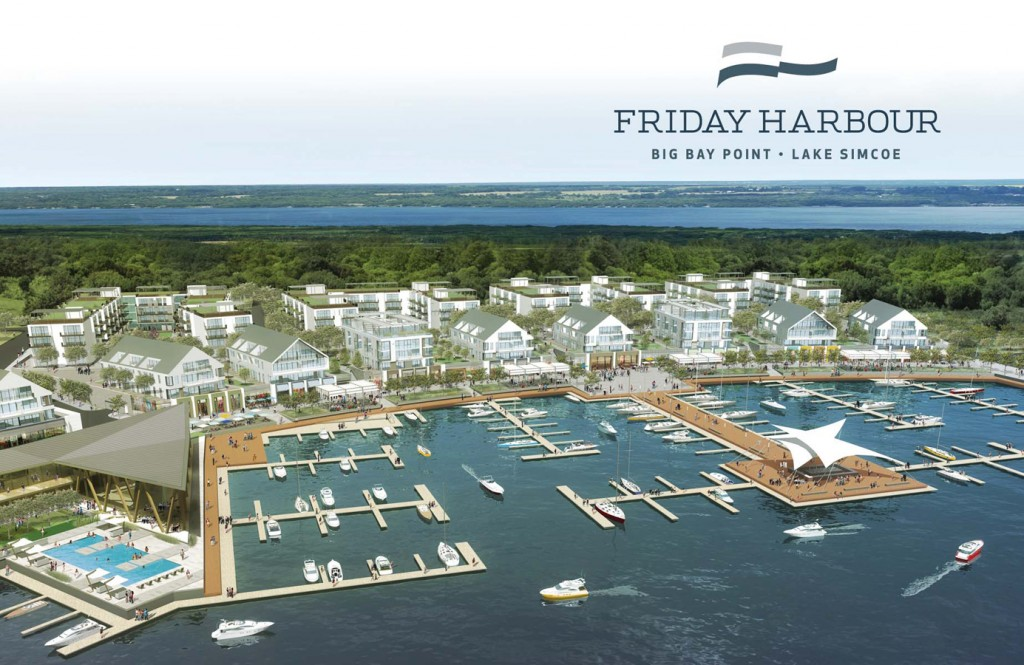 Friday Harbour Resort coming to Big Bay Point, Lake Simcoe
