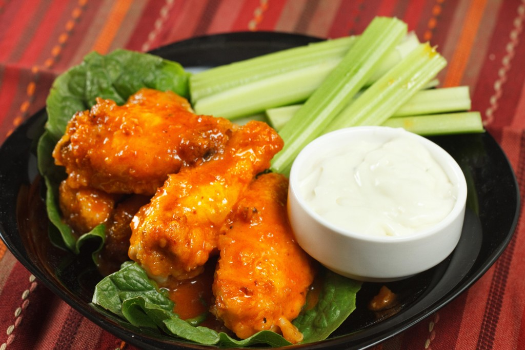 Honey Lime Buffalo Wings, a variation on an old favourite.
