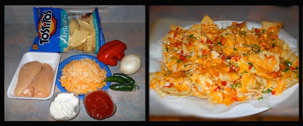 Our delicious homemade nachos!