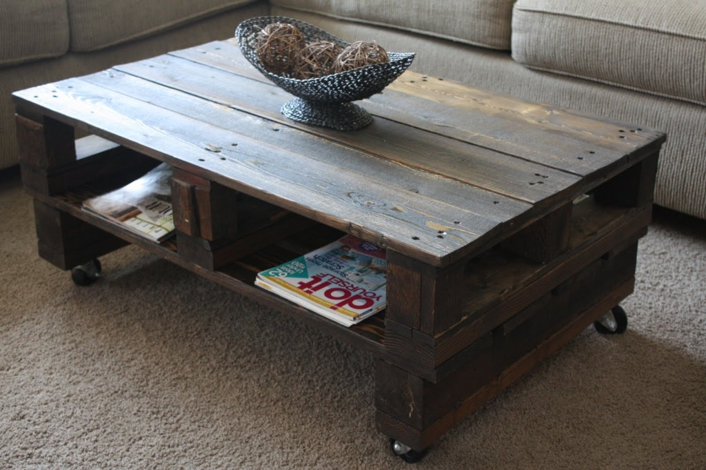 Room for storage in this coffee table