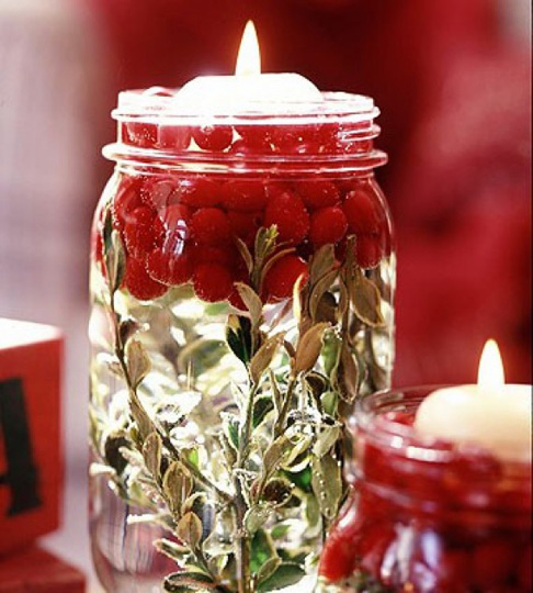 Celebrate the season with these homemade candles.