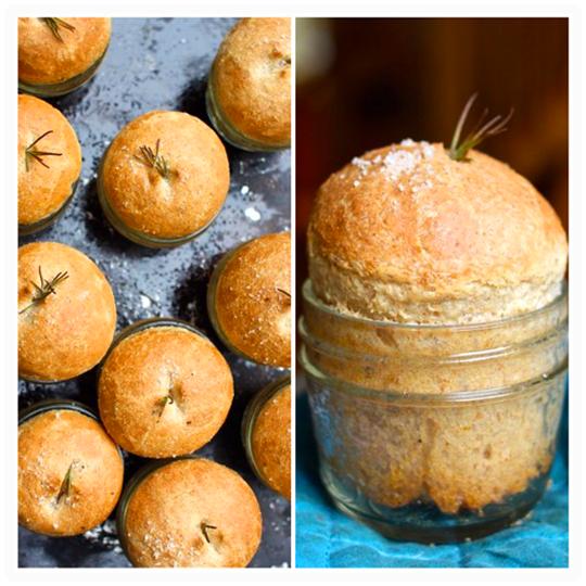 Mason Jar Bread Rolls