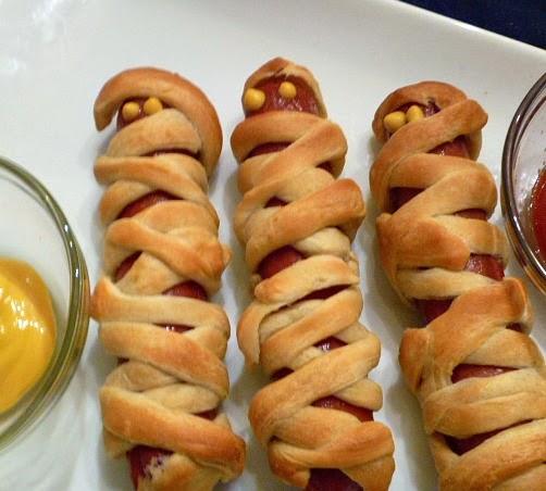 Mummie Hot Dogs