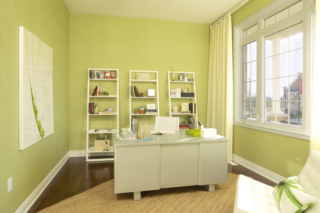 Extending curtains beyond the frame makes a window feel grander and allows extra light in when the curtains are open.