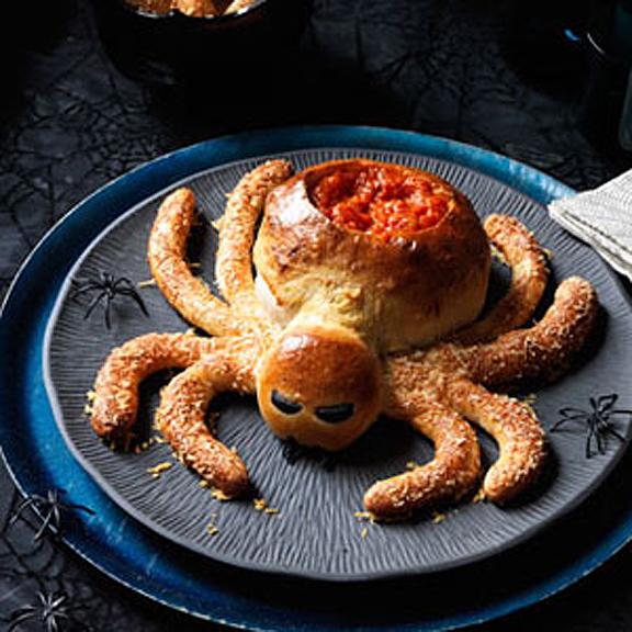 Saucy Spider with Marinara Dip.