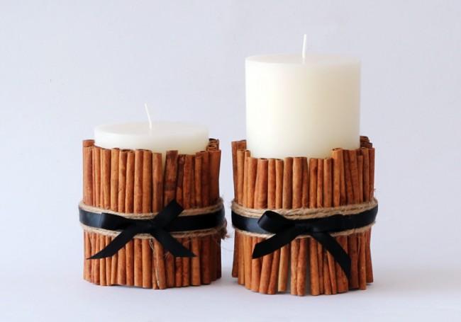 Make it yourself Cinnamon Vanilla Candles