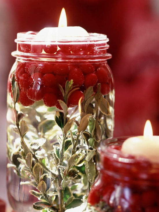 Featured in an earlier blog, you can use your imagination when filling these holiday jars.