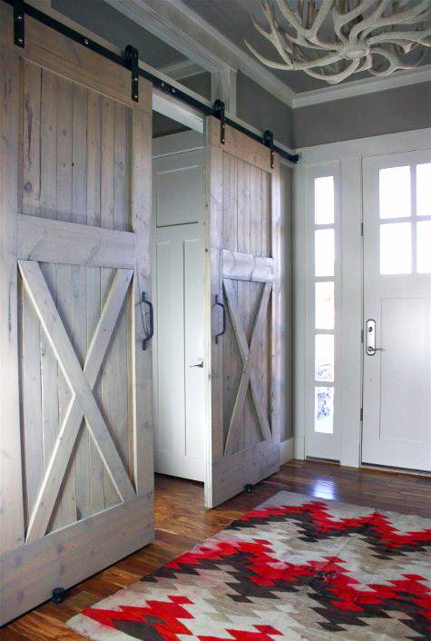 With Great Inspirations From Houzz U2013 Hereu0027s A Look From Rustica Hardware. Sliding  Barn Doors ...