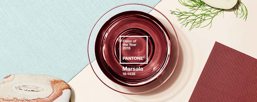Marsala is the 2015 Pantone Color of the Year