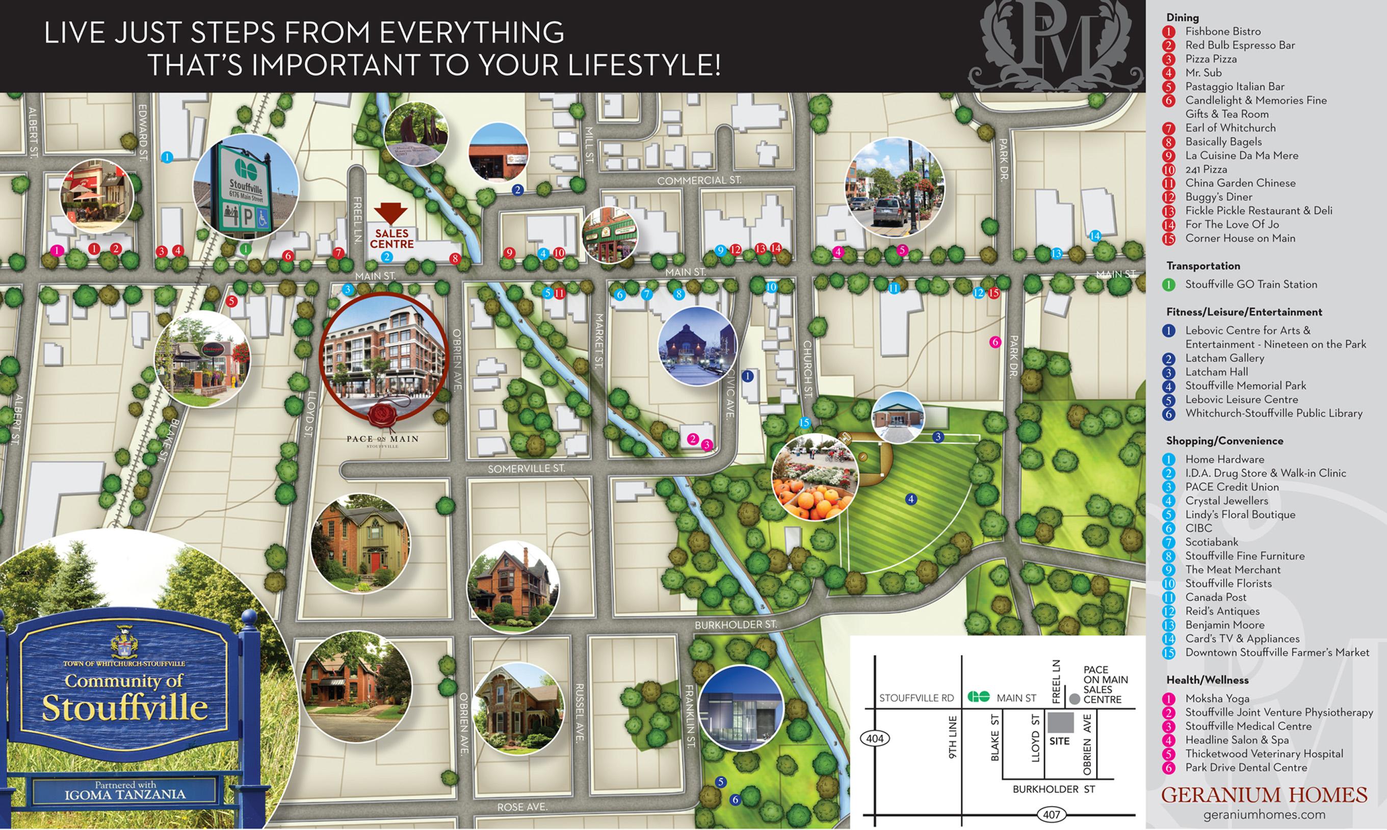 Have You Discovered Main Street Stouffville Geranium Blog