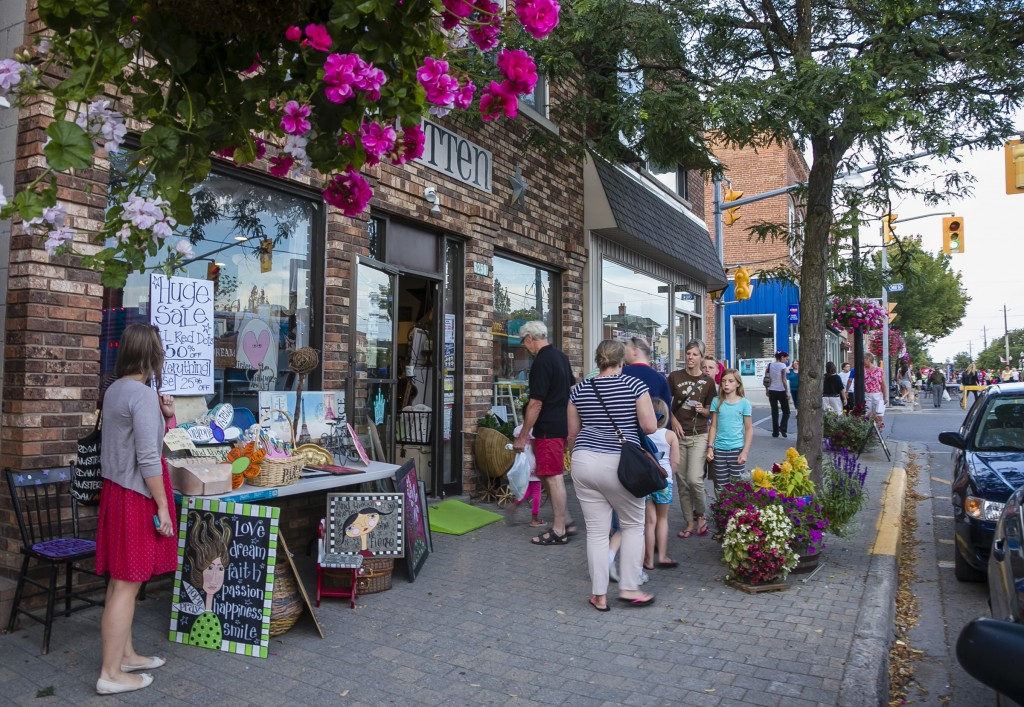 Moonlight Madness on Main Street Photograph courtesy Town of Whitchurch-Stouffville
