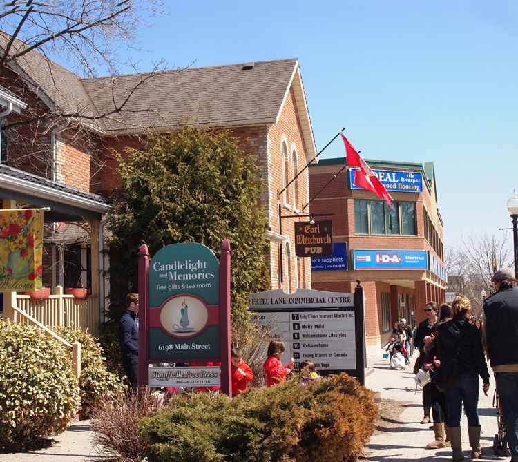 Photograph courtesy Town of Whitchurch-Stouffville