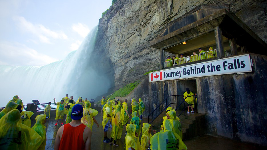 A journey behind the Falls is another great idea this weekend.