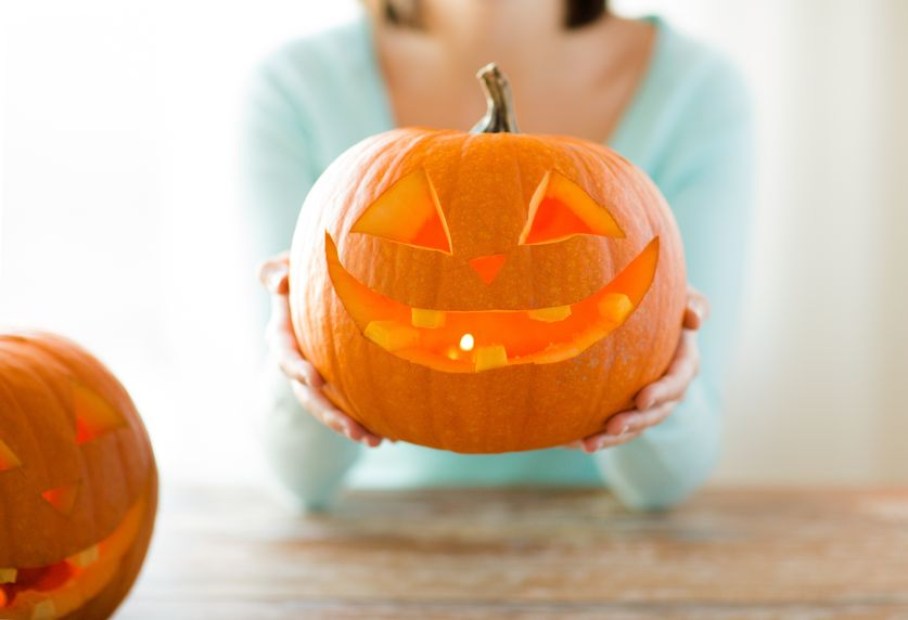 It's easy to maintain a gourd-geous pumpkin.