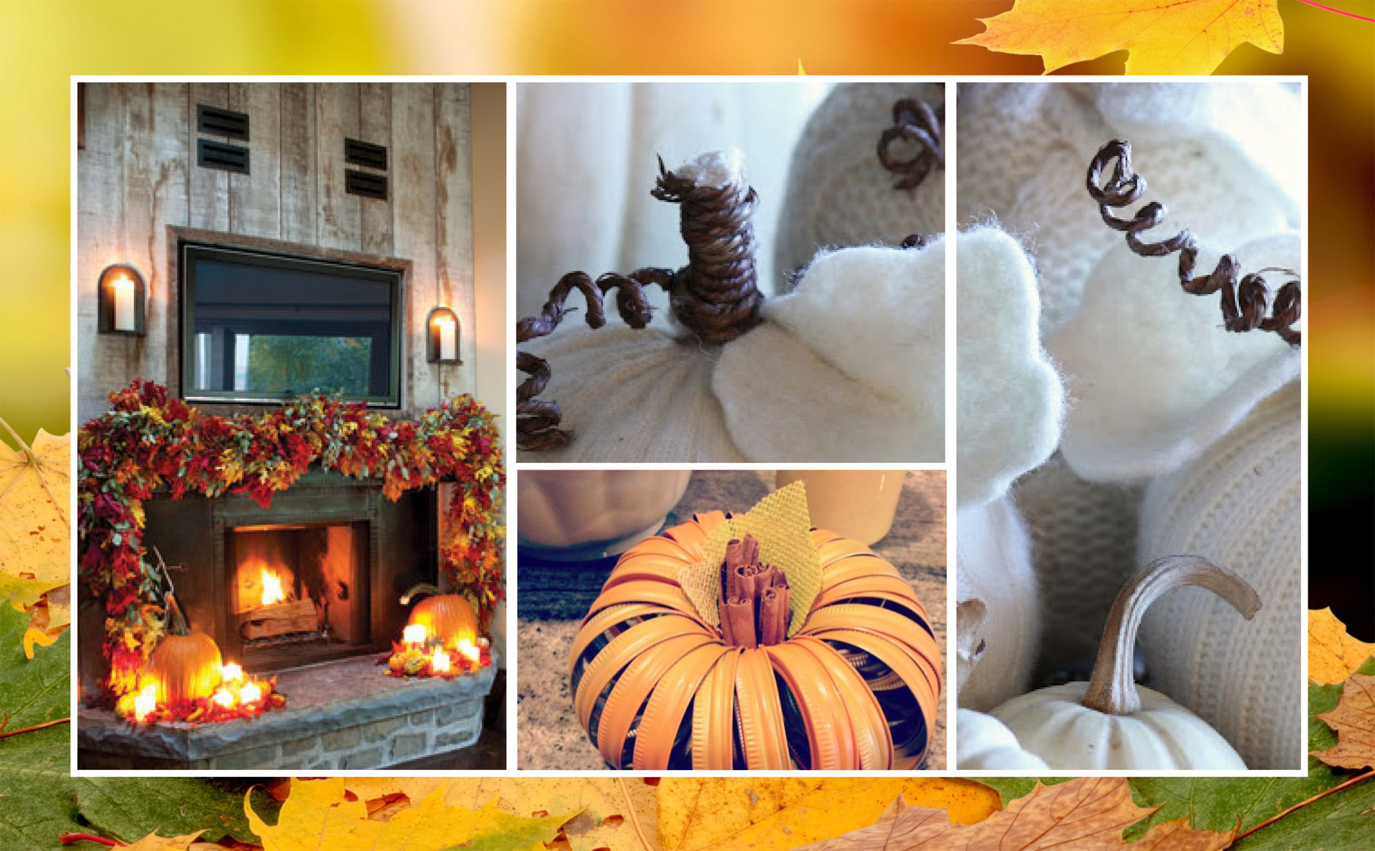 Fall In Love With Seasonal Home Decor Geranium Blog
