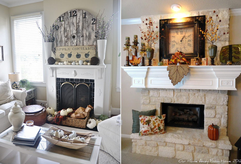 The possibilities are endless when decorating your mantel