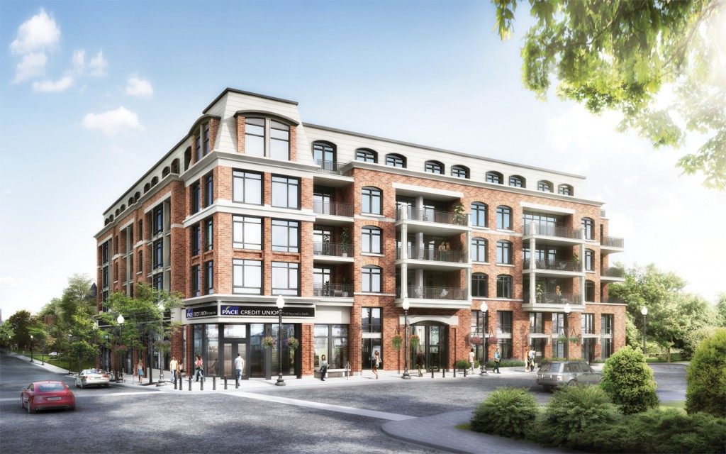 Pace on Main in downtown Stouffville offers the best of condo living