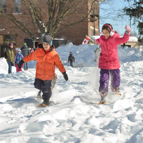 Enjoy fun, family activities at your local Winter Carnival, like Winterfest.