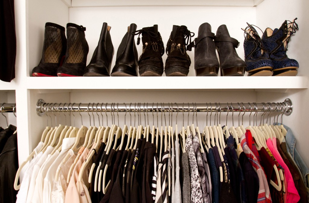 When it comes to spring cleaning, start with your closet.