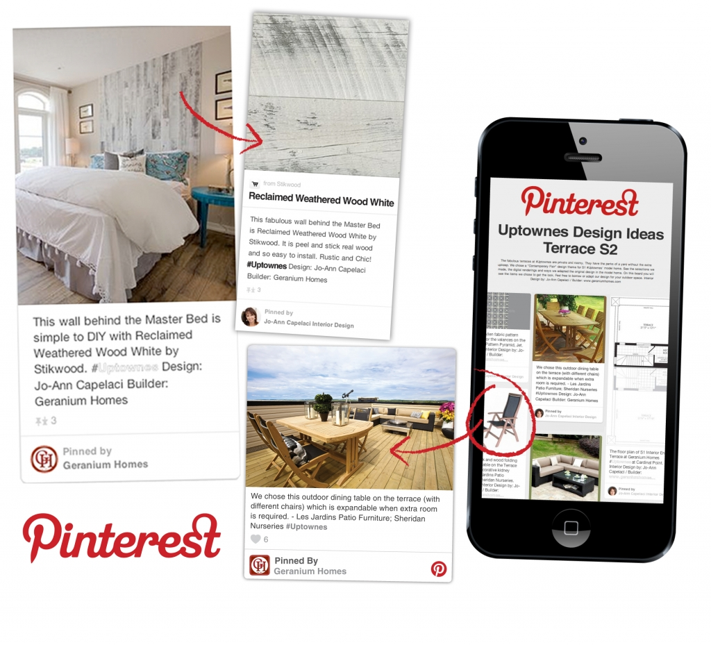 Geranium Homes' Pinterest pages always offers lots of inspiration for home owners.