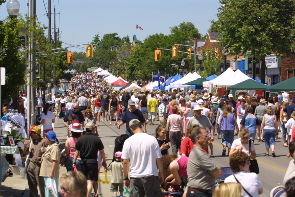 The 2nd largest festival in York Region, the Strawberry Festival is always a fun event. Photo courtesy of the town of  Whitchurch-Stouffville.