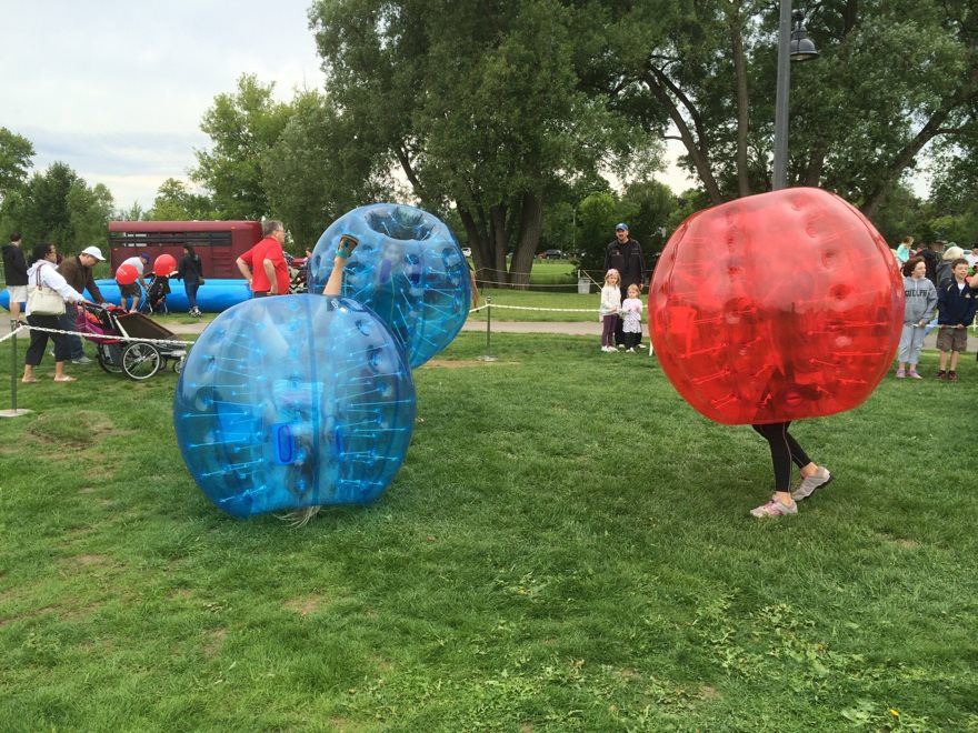The Zorba Balls are always a hit!  Photo by Ker-Yng Pang