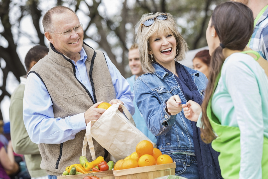 Stopping at the local market not only helps you get stocked up for your hungry helpers but gives you the chance to meet the local merchants.