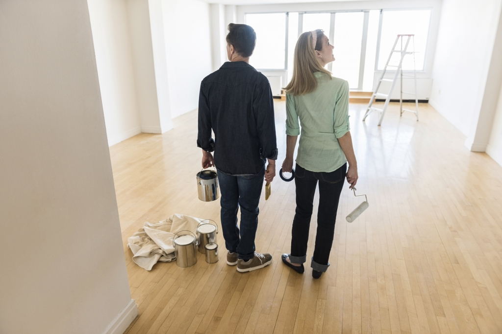 There's nothing more exciting than choosing the paint for your new home.