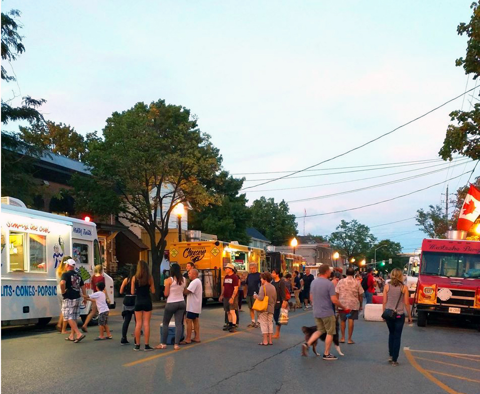 Stouffville's Food Truck Frenzy is always a popular event.