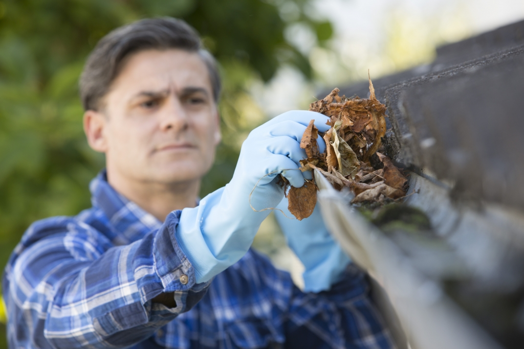 Now's the time to clean and inspect your eavestroughs