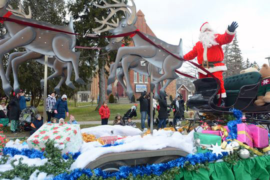 This year the Stouffville Santa Claus Parade is on December 3rd.