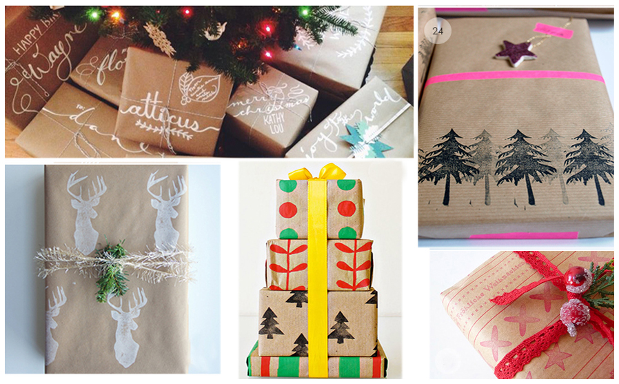 The possibilities are endless with you start with Brown Paper Wrap!