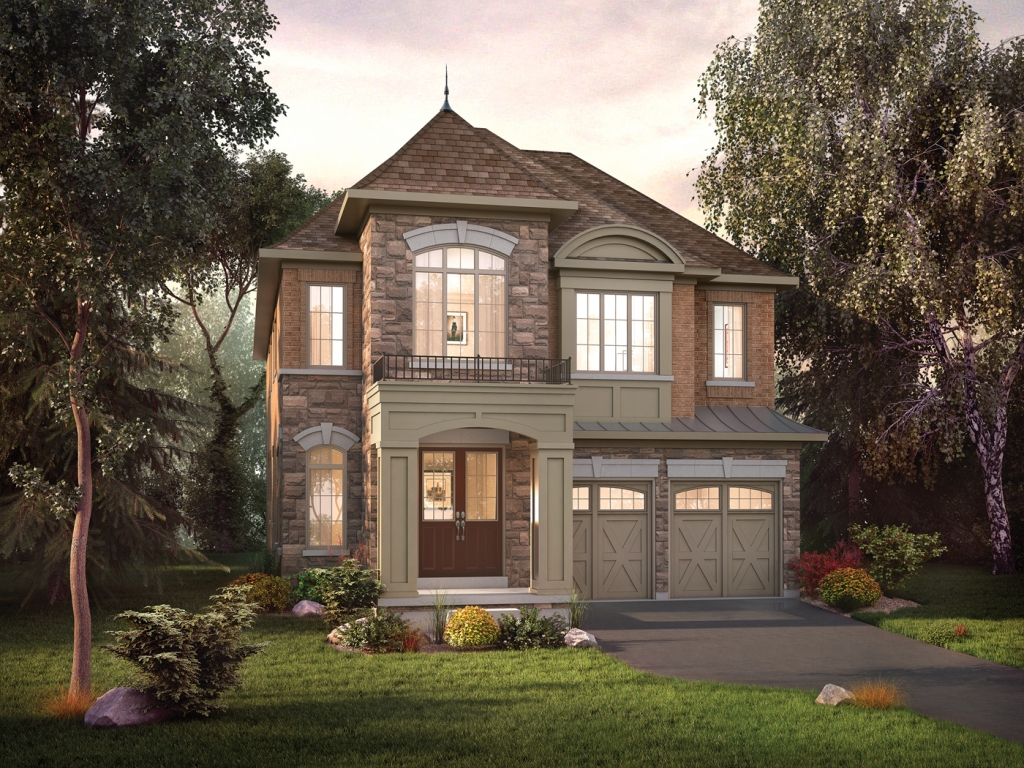 Beautiful executive homes at 12 On The Ravine.
