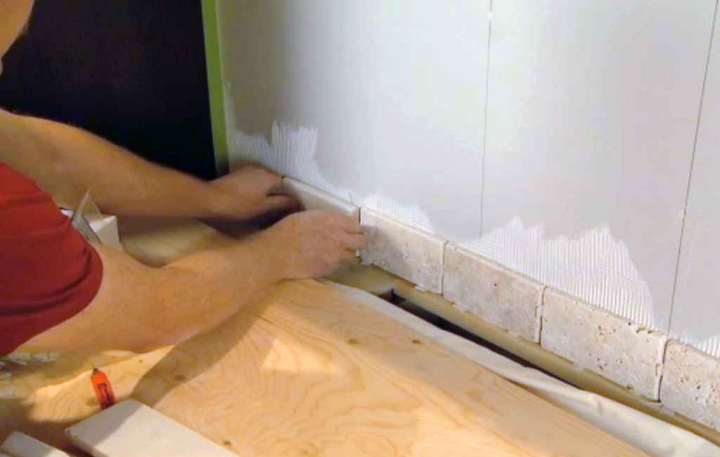 Tiling a backsplash is a DIY project you can take on.