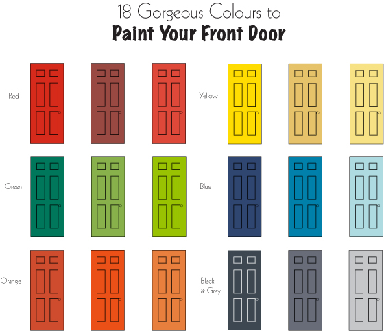 Still not sure which colour to choose? Here\u0027s a chart that will help with this decision or try this quiz to find the colour that best suits your ...  sc 1 st  Geranium & How to Choose the Right Colour for your Front Door | Geranium Blog